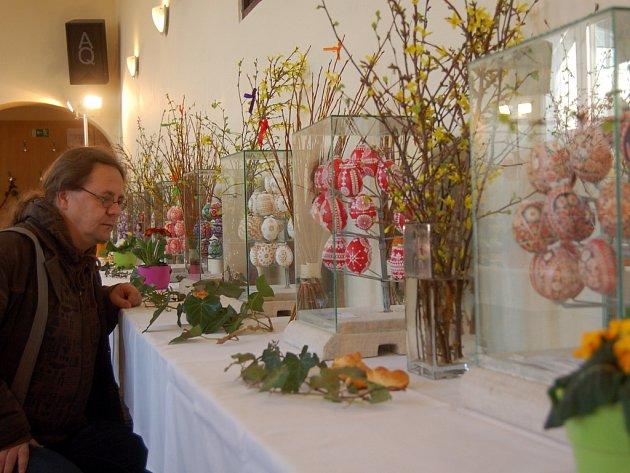 Výstava velikonočních kraslic v Kraslicích.