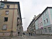 Divadelní ulice v Sokolově