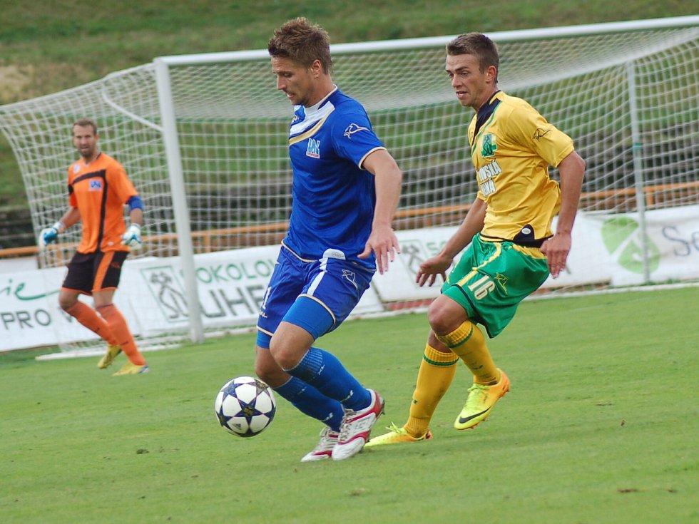 8. kolo Fotbalové národní ligy: FK Baník Sokolov - FK Ústí nad Labem 0:2