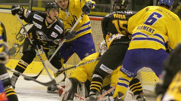 II. hokejová liga: HC Baník Sokolov - HC Vajgar Jindřichův Hradec