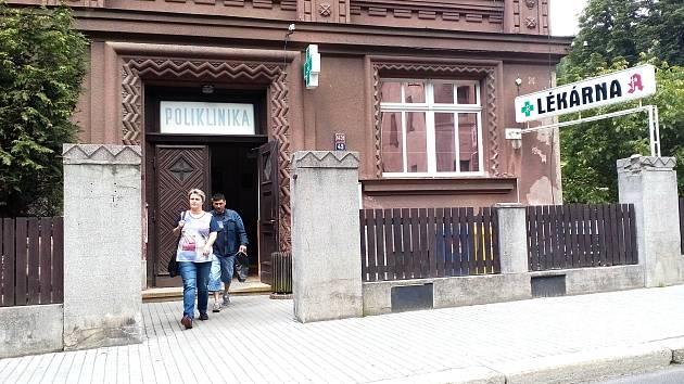 Poliklinika v Kraslicích.