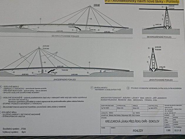 Studie nové Krejcarové lávky
