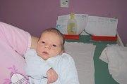 FILÍPEK ŠOUR z Kraslic se narodil 26. listopadu