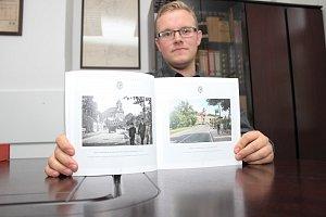 Brožura Chodovské proměny, kterou představuje autor, městský historik Miloš Bělohlávek, se setkala s nečekaně velkým zájmem ze strany Chodováků.