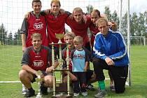 Vítězný tým Torpéda Bukovany
