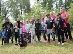 Příměstský policejní tábor pro rotavské děti
