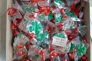 Vánoční strom plnil přání postiženým klientům ze Sokolíka.