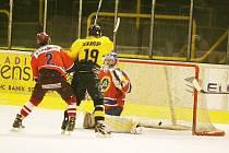 Hokejisté Sokolova podlehli Kobře Praha na domácím ledě 4:2