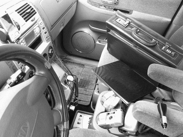 Auto není trezor.