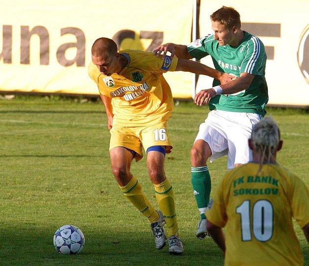 Přípravný fotbal: Bohemians 1905 - FK Baník Sokolov