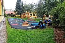Zahrada chodovského DDM Bludiště