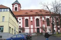 Kostel v Chodově.