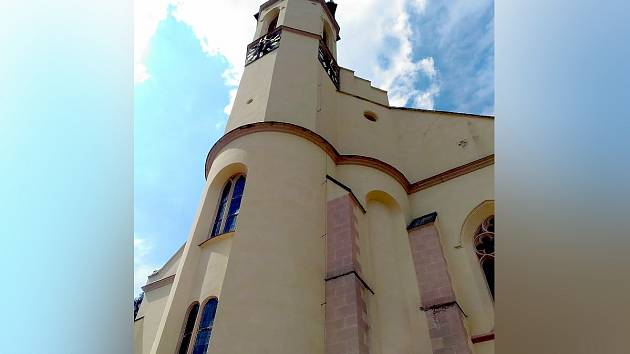 Kostel svatého Jáchyma byl vystavěn v letech 1534-1540 jako první luteránský kostel.