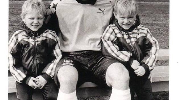 Jiří Krbeček se svými syny