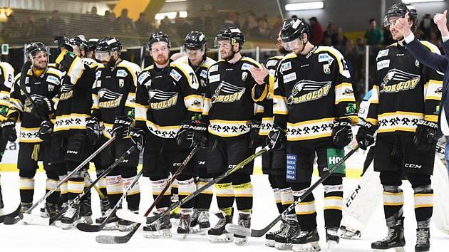 Hokejová Baník v play off.