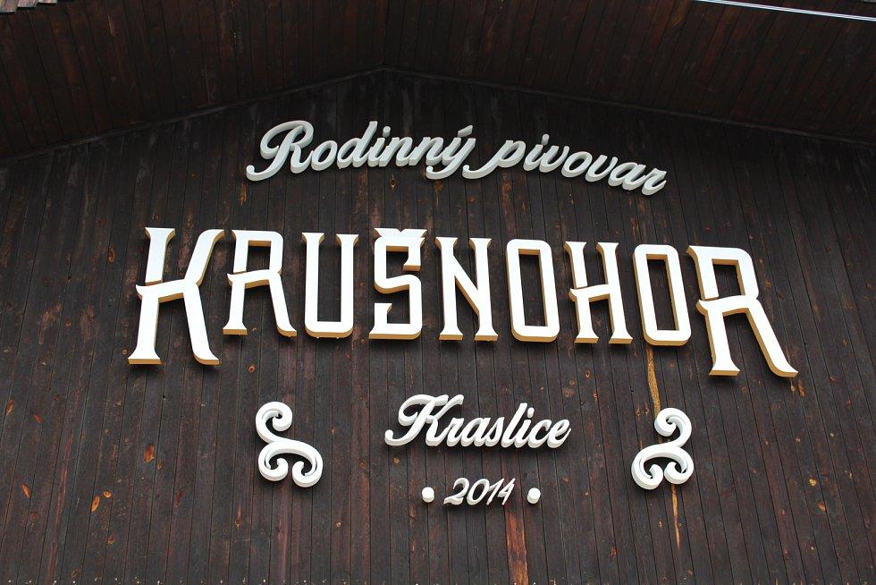 Otevření pivovaru Krušnohor.