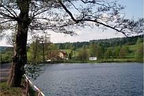 Rybník Tajch v Šindelové.