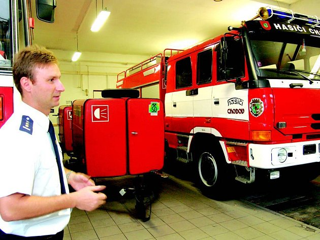 Chodovští hasiči se mohou těšit na novou cisternu.