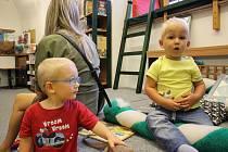 Loketská knihovna pořádá pro děti od 1 do 3 let pravidelný Bookstartový klub.