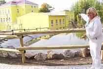 Oáza klidu má novou přístavbu i venkovní areál