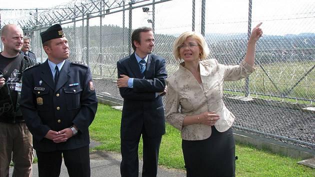 Delegace ve Věznici Kynšperk nad Ohří.
