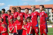 Mezinárodní utkání U15: Česká republika  - Ukrajina v Sokolově