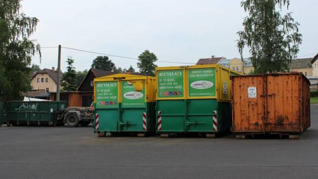 Velkoobjemové kontejnery je třeba si od nového roku objednat u technických služeb.