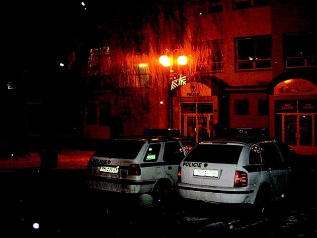 Policie v Habartově.