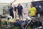 Mezinárodní motosraz se konal na Vránově již podruhé.