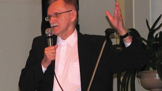 Senátor Parlamentu ČR Pavel Čáslava.