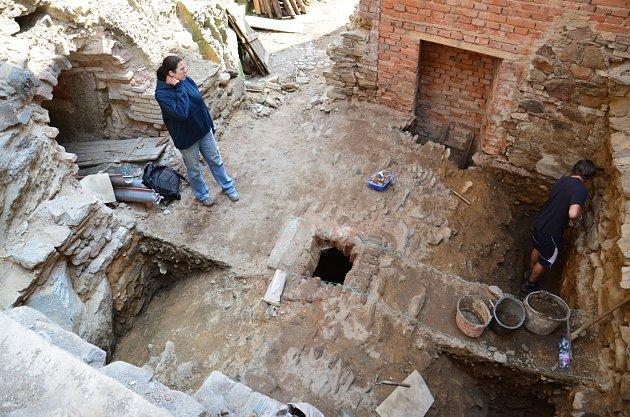 Archeologický výzkum.