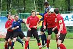 Krajská I. A třída: Olympie Březová - SK Dolní Rychnov (v červeném)