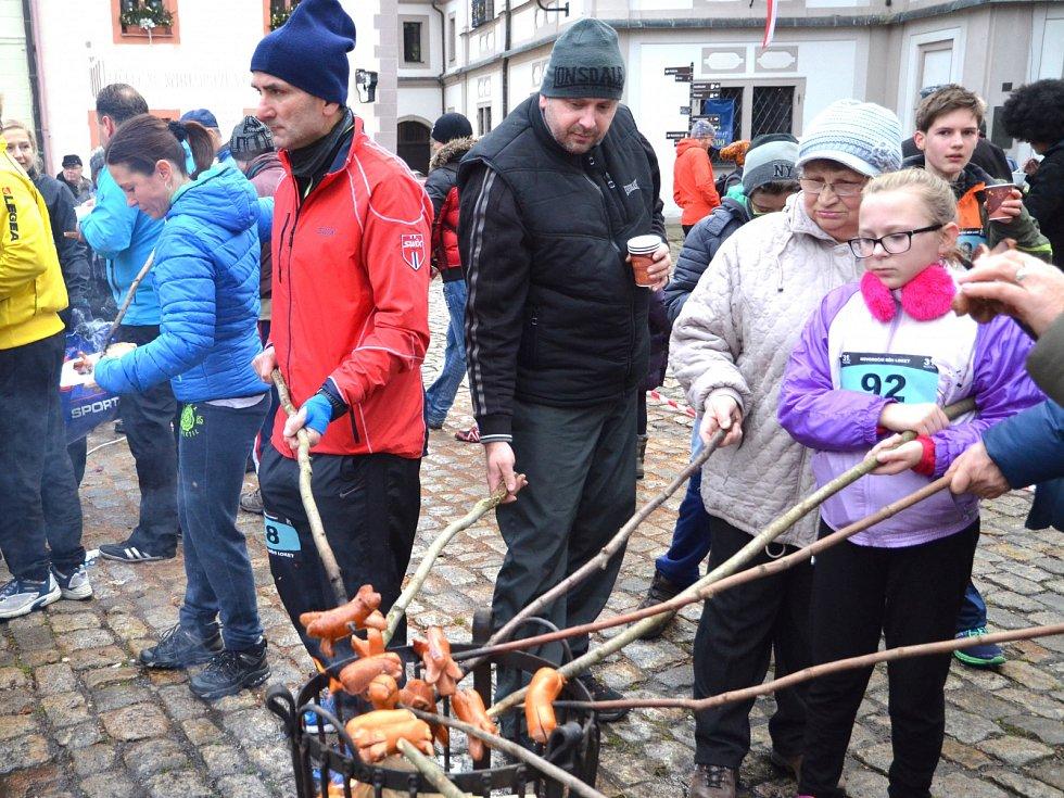 Novoroční běh v Lokti 2016