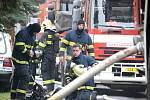 Požár v Dolním Rychnově