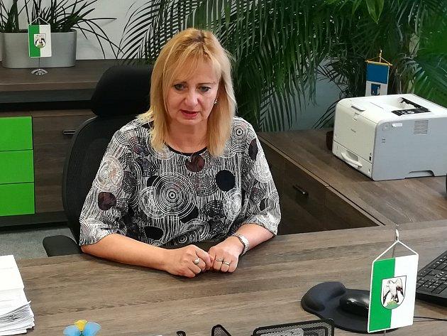 Starostka Renata Oulehlová