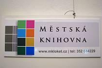 Slavnostní otevření nové knihovny v Lokti.