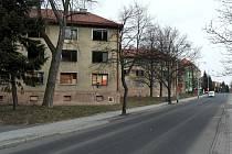 Bytové jednotky v ulici Sokolovská v Sokolově.