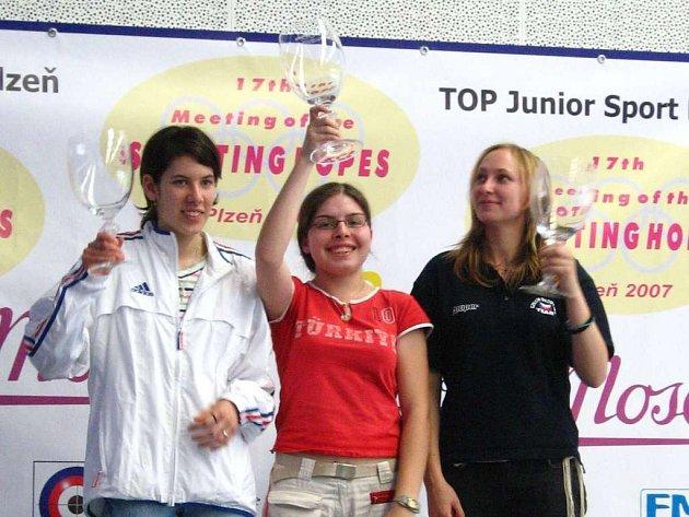 Jana Lorencová se může těšit na juniorské mistrovství Evropy.
