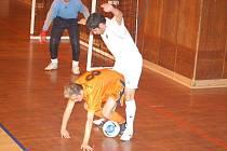 Futsalisté Materie v probíhající sezoně. Zatím se moc nedaří.