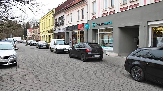 Rooseveltova ulice v Sokolově.