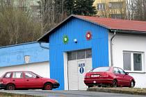 Bývalá STK Tekoso v Sokolově