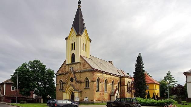 Kostel Neposkvrněného početí Panny Marie ve Svatavě.