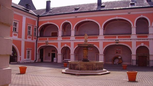 Knihovna v zámku