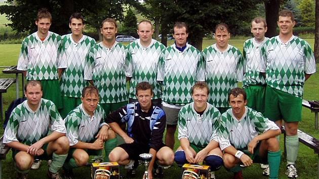 Vítězný tým Jindřichovic.