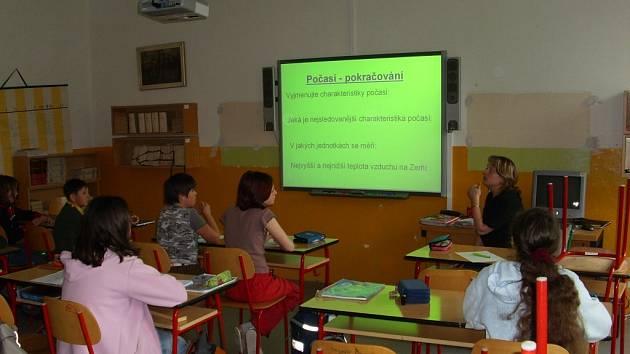 Základní škola v Oloví.