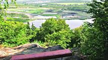 Zajímavým místem pro výlet může být takévyhlídka Chodaublick