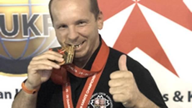 Mistr světa Daniel Pekuniak.