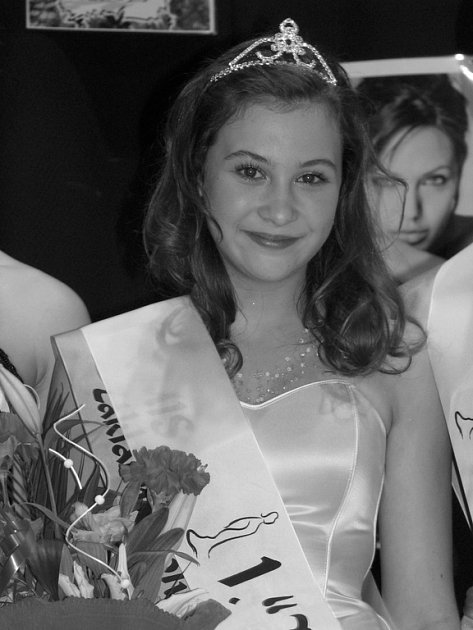 Březovská kráska Aneta Pfeifferová je Dívkou roku 2008.