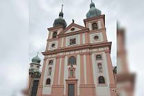 Kostel v Chlumu Svaté Máří.