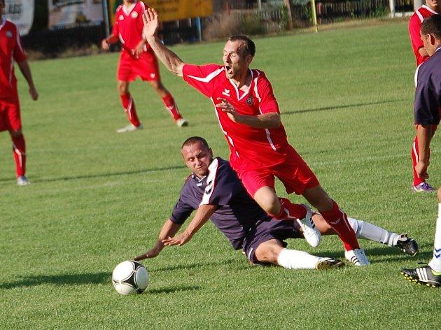 Krajský přebor: BU Nové Sedlo - FC Cheb